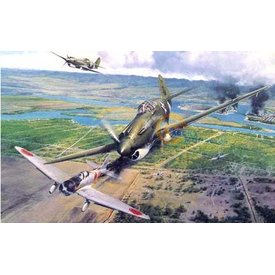 VINTAGE P40B PEARL HARBOR 1:24 SCALE PLASTIC KIT