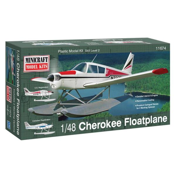 PIPER CHEROKEE FLOATS NEW TOOL1:48
