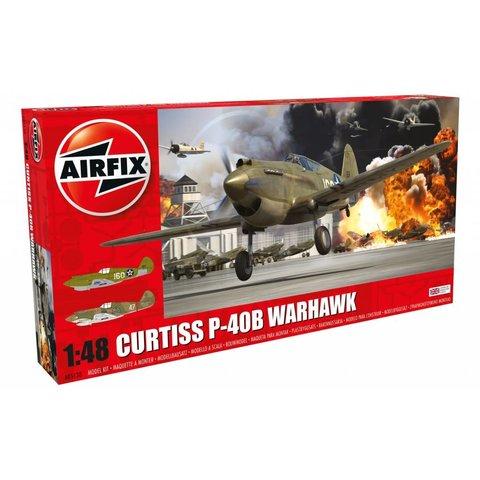 CURTISS P-40B WARHAWK 1:48 Scale Plastic Kit