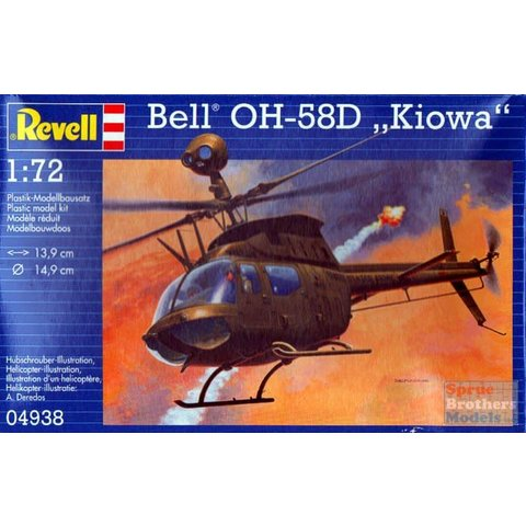 BELL OH-58D KIOWA 1:72 scale kit