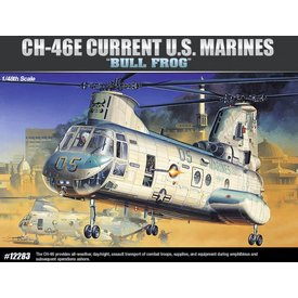 Academy CH46E BULL FROG Current USMC 1:48 Scale Kit