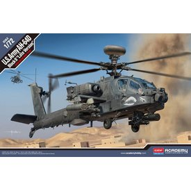 Academy ACADEMY AH64D Block II Late Version 1:72 Scale Plastic Kit