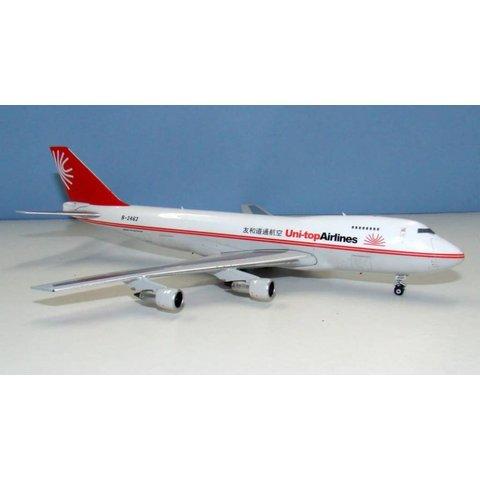 B747-200F Uni-Top Airlines B-2462 1:400