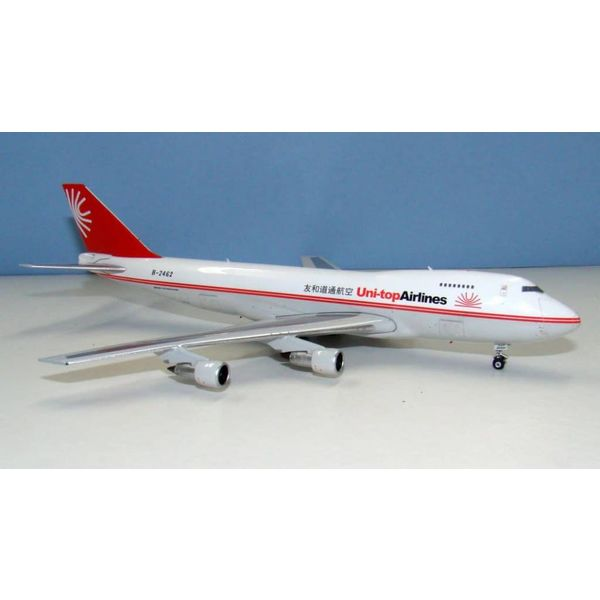 Phoenix B747-200F Uni-Top Airlines B-2462 1:400