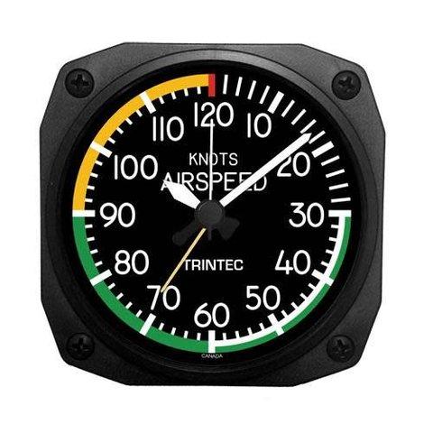 Modern Airspeed Indicator Alarm Clock