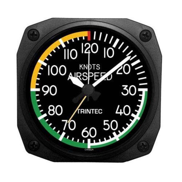 Trintec Industries 2060 Airspeed Indicator Alarm Clock