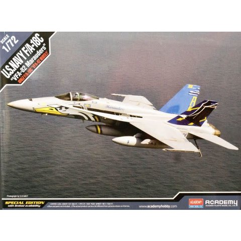 F-18C USN VFA-82 MARAUDERS 1:72 (LTD ED)