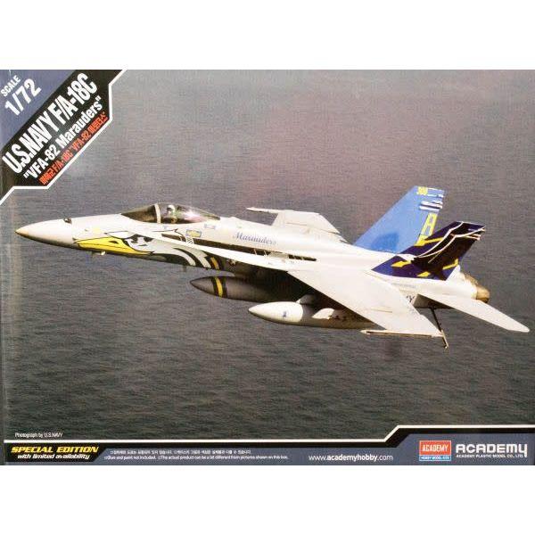 Academy F18C USN VFA32 MARAUDERS 1:72 LTD ED