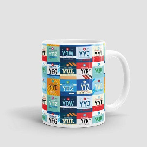 Mug Canadian Airports