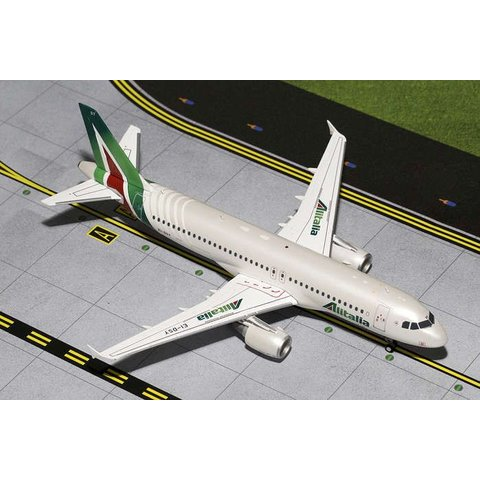 A320 Alitalia 2015 Livery EI-DSY 1:200 with stand