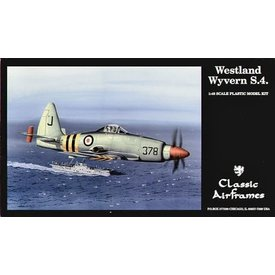 Classic Airframes CLASSIC AIRFRAMES WESTLAND WYVERN 1:48 SCALE KIT