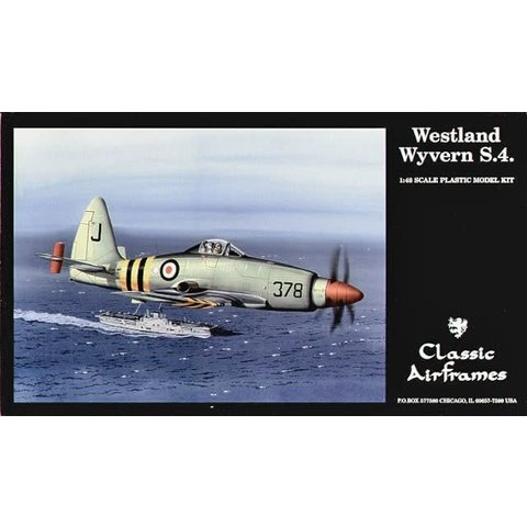 CLASSIC AIRFRAMES WESTLAND WYVERN 1:48 SCALE KIT