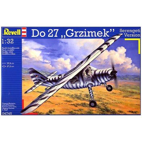 REVELL GERMANY DO27 GRZIMEK 1:32 SCALE PLASTIC KIT