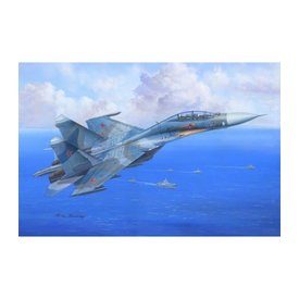 HobbyBoss SU-27UB FLANKER C 1:48 SCALE PLASTIC KIT