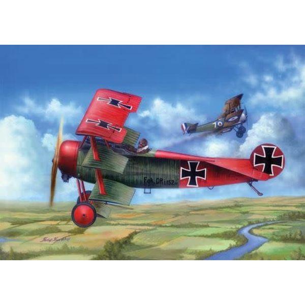 MERIT Fokker DrI 1:24 NEW TOOLING
