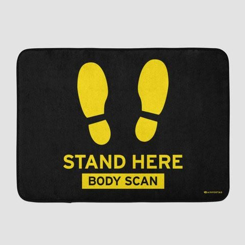 Body Scan Bath Matt