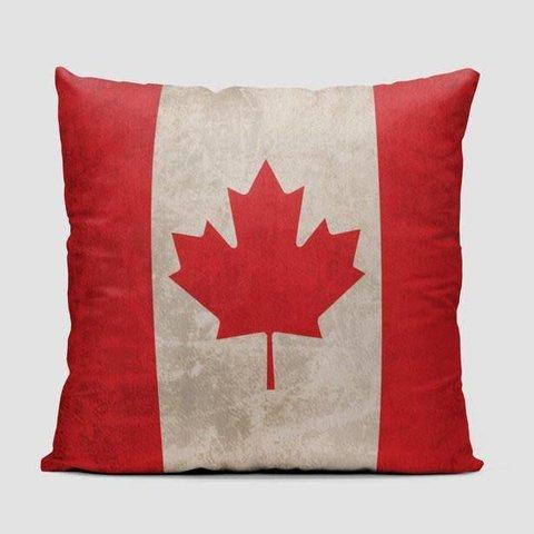 Canadian Flag Throw Pillow