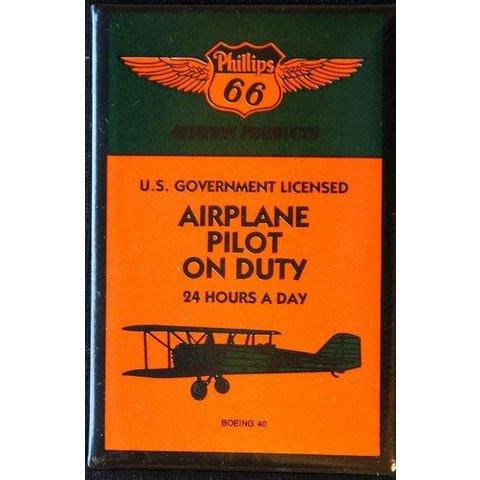 Magnet Phillips Pilot on Duty