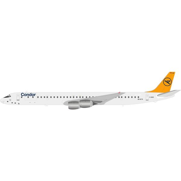 InFlight DC8-73 Condor D-ADUC 1:200 with stand