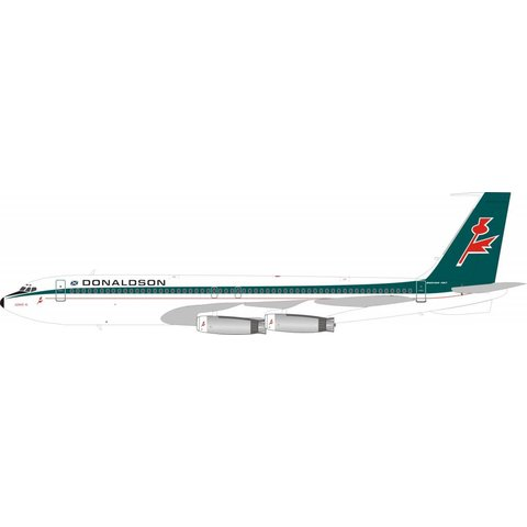 B707-300 Donaldson International G-BAEL 1:200 With Stand