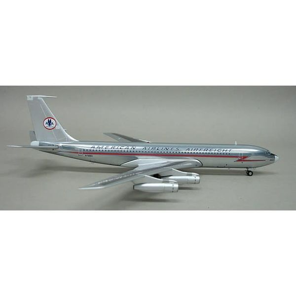 InFlight B707-300 American Airlines Airfreight Old Livery 1:200 polished with stand