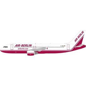 InFlight A320 Air Berlin old livery D-ABDA 1:200 with stand