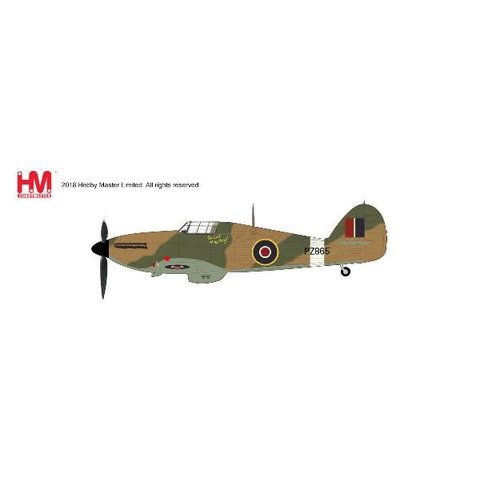 Hawker Hurricane IIc Last of the Many PZ865 1:48 with stand