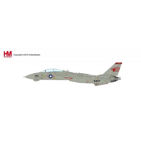 F14A Tomcat VF1 Wolfpack NE-103 162603 Mi-8 Killer 1991 1:72