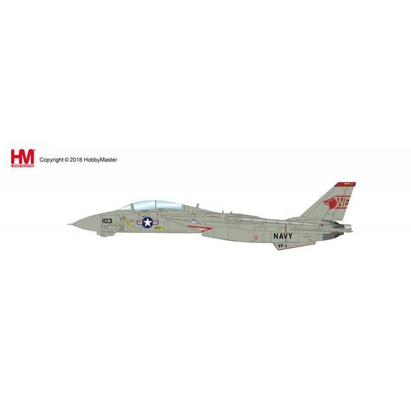 Hobby Master F14A Tomcat VF1 Wolfpack NE-103 162603 Mi-8 Killer 1991 1:72