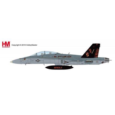 FA18D Hornet VMFA(AW)-224 Bengals WK-01 USMC 164699 2009 1:72