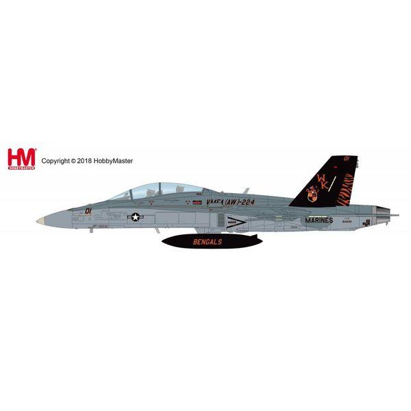 Hobby Master FA18D Hornet VMFA(AW)-224 Bengals WK-01 USMC 164699 2009 1:72