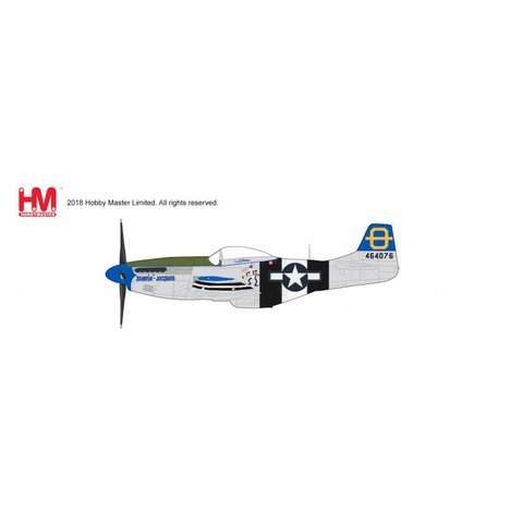 P51D Mustang 3rd FS 3rd FG USAAF Jumpin Jacques Philippines 1945 1:48