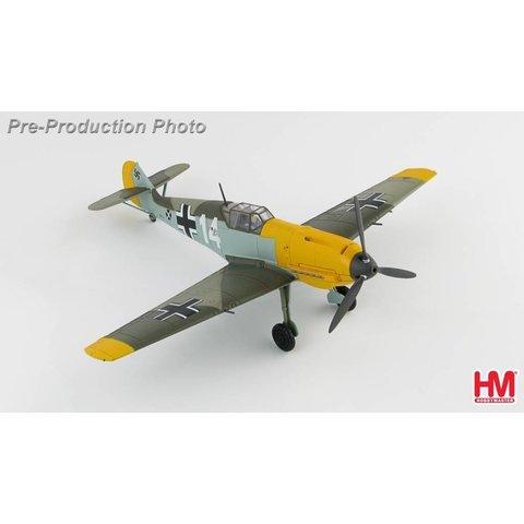 Bf109E3 1.J/LG2 ,Hans-Joachim Marseille France WHITE 14 1940 1:48