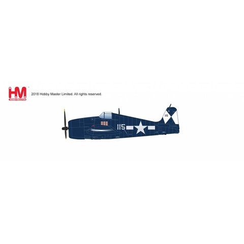 F6F5 Hellcat WHITE 115 VF83 USS Essex US Navy May 1945 1:32