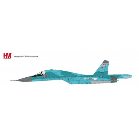 Su34 Fullback Fighter Bomber RED 03 Russian Air Force Syria Jan 2015 1:72*NEW TOOL*