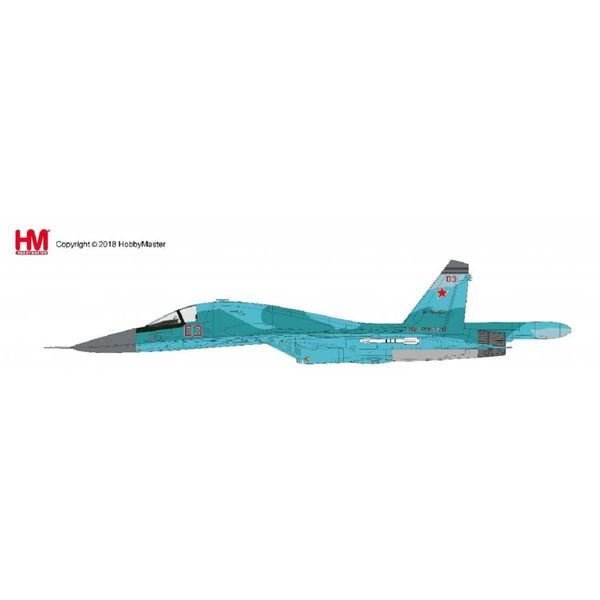 Hobby Master Su34 Fullback Fighter Bomber RED 03 Russian Air Force Syria Jan 2015 1:72*NEW TOOL*