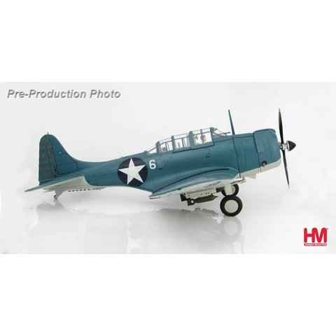 SBD1 Dauntless VMSB-241 WHITE 6 4 June 1942 1:32