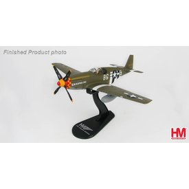 Hobby Master P51B Mustang 363rd FS 357 FG USAAF Blackpool Bat B6-E 1:48 with stand
