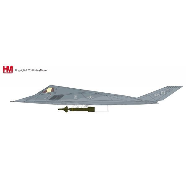 Hobby Master F117A Nighthawk 53rd TEG Det.1 53WG OT Holloman AFB 2004 835 Gray Dragon 1:72