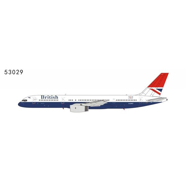 NG Models B757-200 British Airways Negus Red Tail Livery 757 G-CPET 1:400