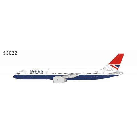 B757-200 British Airways Negus Red Tail Livery 757 G-BIKB 1:400
