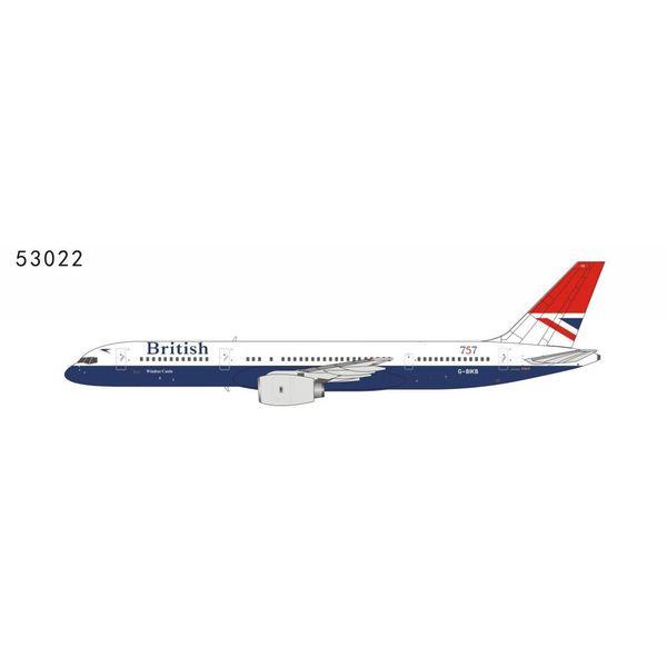 NG Models B757-200 British Airways Negus Red Tail Livery 757 G-BIKB 1:400