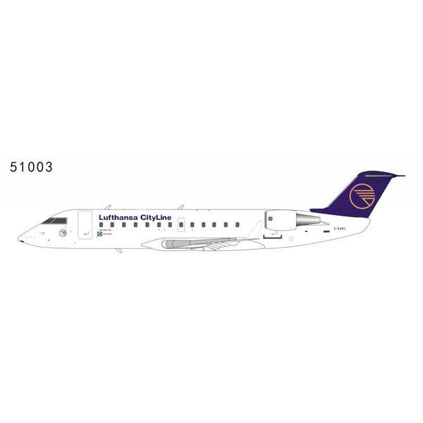 NG Models CRJ200 Lufthansa CityLine C-GVRJ with Canadair Logo Farnborough 1992 1:200
