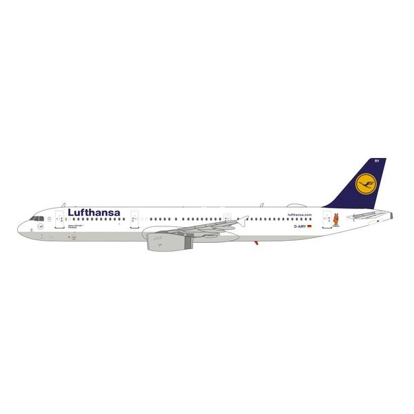 HYJL Wings A321 Lufthansa D-AIRY Flensburg 1:400