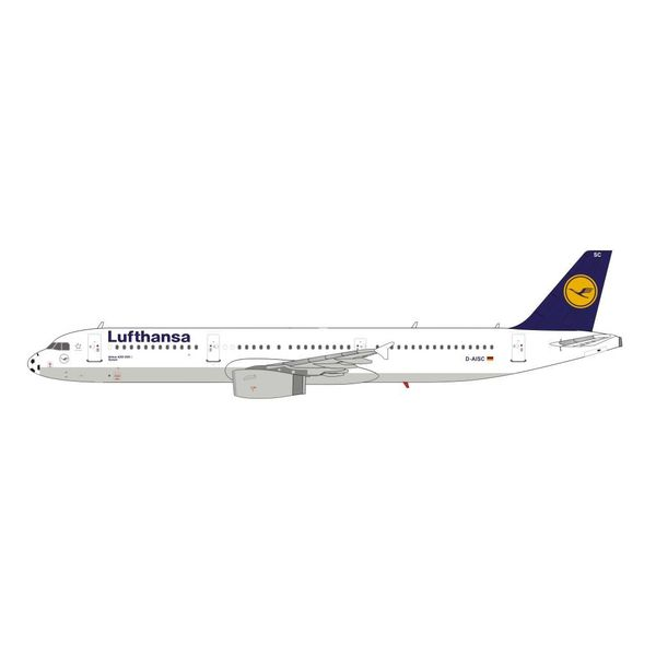 HYJL Wings A321 Lufthansa D-AISC Speyer Soccer Nose 1:400