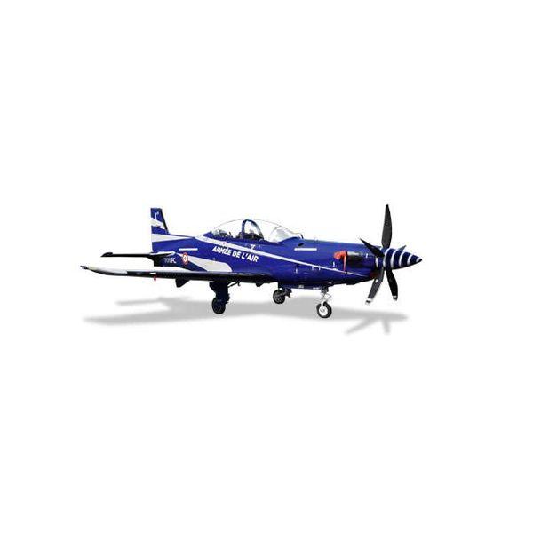 Herpa PC21 Pilatus French Air Force Armee de L'air École de Pilotage EPAA 00.315 Général Jarry Cognac-Chateaubernard Air Base 709-FC 1:72