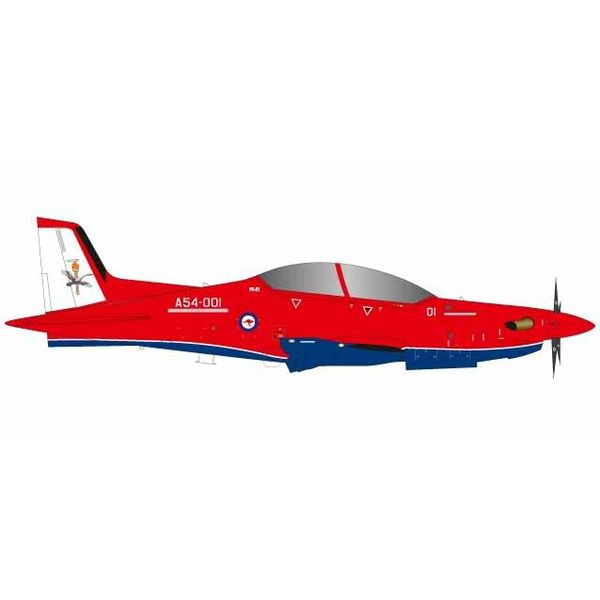 Herpa PC21 Pilatus Royal Australian Air Force RAAF No 2 Flying Training School 2FTS RAAF Base Pearce A54-001 1:72