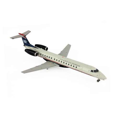 ERJ145 US Airways Express 2006 final livery 1:200 with stand