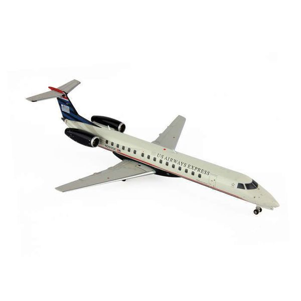 Gemini Jets ERJ145 US Airways Express 2006 final livery 1:200 with stand