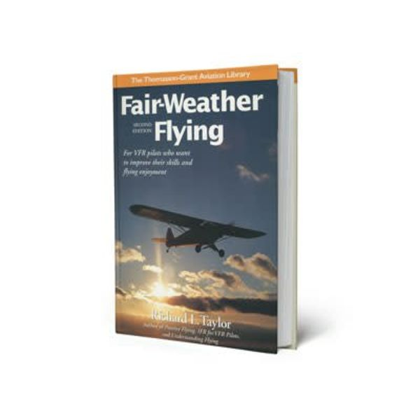 ASA - Aviation Supplies & Academics Fair Weather Flying: For VFR Pilots 2nd Edition hardcover